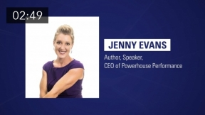 Jenny Evans: How to Deal with Stress