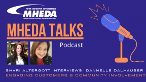 MHEDA Talks: Dannelle Dalhauser on Engaging Customers & Community Involvement