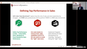 "Defining Top Performance in the ""New Role"" of Sales"