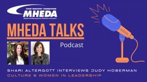MHEDA Talks: Judy Hoberman on Culture & Women in Leadership