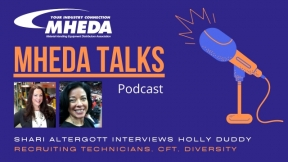 MHEDA Talks: Holly Duddy on Recruiting Technicians, CFT, and Diversity